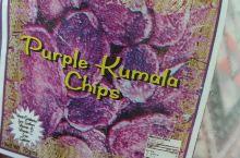 在南太岛国汤加王国购买的特产紫薯片