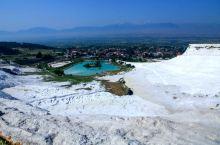 土耳其·棉花堡旅游掠影:              棉花堡如此可爱的名字,源自其外形像铺满棉花的城堡