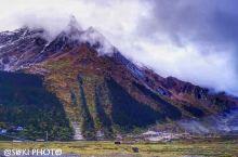 #嘎隆拉雪山,险与美共存#  嘎隆拉山位于墨脱与波密交界地带,是南面印度洋暖水气和北面青藏高原高寒水