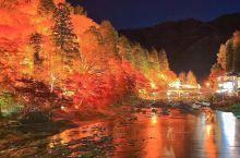 大美香岚溪。 这里是日本东海地区第一红叶名所。17世纪前叶参荣禅师参读一卷《般若心经》后,即亲植一株