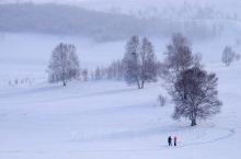 家乡的雪景