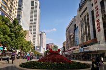 昆明市中心南屏步行街、金碧花鸟市场