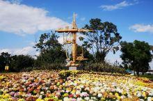七彩云南古滇名城,景色很美。