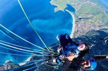 费特希耶·土耳其爱琴海地区 费特希耶滑翔伞 费特希耶港   我宣布这片蓝都被我承包了啊,哈哈!土耳其