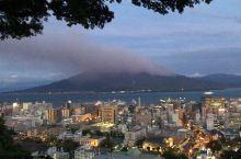 鹿儿岛火山喷发中
