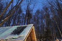 北海道冬天的精灵露台就是在童话里