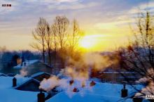 长白山北坡下有个泉阳镇。 松江河~龙井火车上随拍窗外景致,冬日的一个早晨日出时节真的很美很东北。 【