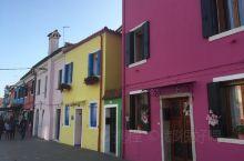威尼斯彩色岛,五颜六色的房子
