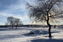 冬季的 乌兰布统旅游区  这也算是雪地越野初体验了  后驱的英菲尼迪简直是寸步难行 只能换到同行的坦