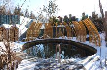 没泡过东北的温泉还好意思说你是温泉爱好者?什么是真正的冰火两重天?零下20度,冰天雪地,温泉池热气腾