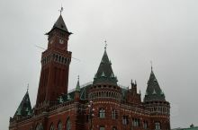 赫尔辛堡,一座静谧的小城。