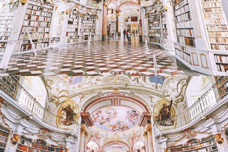 Admont Abbey Library1