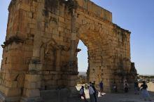 沃鲁比利斯罗马古城遗址,当时城市规划设计理念已经相当现代化了。