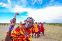 肯尼亚马赛村落