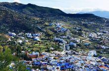 """摩洛哥打卡第五站:浪漫旖旎的""""蓝色之城""""舍夫沙万 在这样浪漫的小城内,随意步入一条小巷,迷失在深深浅"""