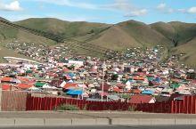 乌兰巴托随拍,上山居住的蒙古房子