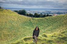 奥克兰伊甸山|市区边上的一座绿色的火山口 看过电影「你的名字」吗?最近,小墨客在新西兰发现了一座死火
