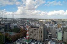 富山市政府的展望塔,免費