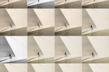 长沙谢子龙影像艺术中心。真的很适合拍照,黑白滤镜非常出片! 但是人也太多了,建议有条件的尽量工作日去