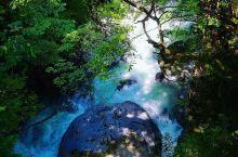 飞流湿行云且碧波荡漾——付知峡  听说中津川有一个地方,这里的瀑布视觉感,可以媲美塞班的海水,既然这