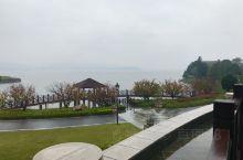 烟雨四明湖