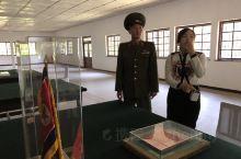 来到朝鲜半岛最著名的地方-板门店。
