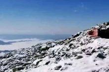 太白山雪景云海