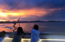 平潭岛搭搭电动车出租-旅客分享-台风过后的长江澳风车田晚霞