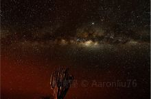 肯尼亚安博塞利的银河!