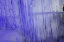 山西临汾云丘山冰洞,美仑美央,令人惊叹不己,怎么会这么美呢?