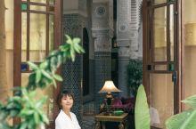 菲斯古城的riad老宅,仿佛来到了宫殿 摩洛哥有许许多多好看的riad(读音/ya:d/),riad