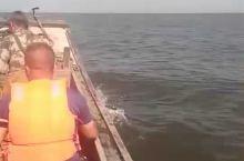 游客跟着出海