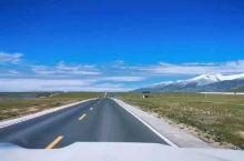 行走在广阔的青藏高原上,心中的委屈和烦恼一扫而光…
