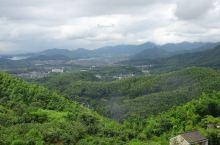 俯瞰四明湖