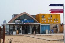 沙滩上的房车营地,不一样的感受!坐标 东戴河银泰房车营地