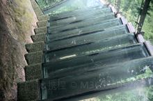 高空玻璃桥玻璃栈道……