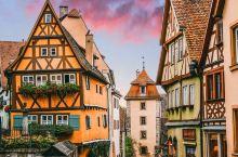 德国居然有个比巧克力还甜的童话小镇 在德国走了一圈,最喜欢的就是罗滕堡,这个小城美得好不真实。罗滕堡