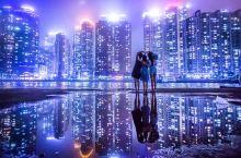 釜山夜景拍摄技巧   一招拍出震撼大片  这个地方是釜山在ins上火了很久的一个拍照地,thebay