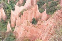 经过大自然亿万年洗礼的红石谷。