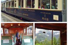 瑞士火车之旅二: 格吕耶尔之旅(Gruyere),从蒙特勒坐MOB火车,火车是到格吕耶尔的专线,车箱
