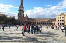 安达卢西亚的塞维利亚,西班牙广场是其不二的旅游景点