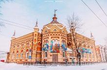 """冰雪茫茫的白色圣诞」 伊尔库茨克西伯利亚第二大城市 被称为""""西伯利亚的心脏""""""""东方巴黎"""" 距离贝加尔"""