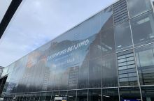 法兰克福机场 庆祝冬奥会