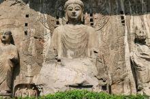 洛阳龙门石窟的卢舍那大佛,据说是以武则天为模特雕刻的