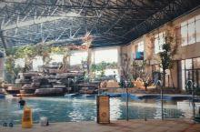 人很少的温泉酒店 齐河阿尔卡迪亚国际温泉酒店  现在室外没有开放,室内主要是小池子温泉。 酒店整体来