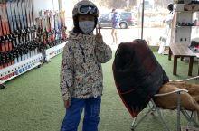 韓國第二天  忙著來滑雪