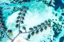 椰林包围之下,静谧的屋舍伴着纯净的海水,陪伴着不同的主人。蓝天,白云,纯净的海水,这是水上屋带给游客