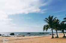 美丽的海南文昌淇水湾海景