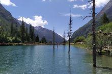 四姑娘山一如期待中那么美妙。蓝天白云与雪山,幽蓝幽蓝的湖水与绿树高山、与干净的天空映照在一起,让人不