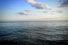 美丽的葫芦岛东戴河最佳旅游地方,大海上的蓝天白云
